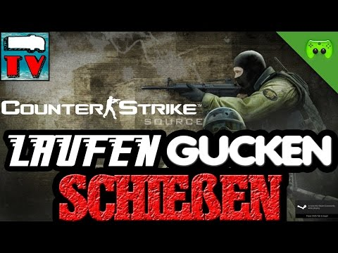 CS SOURCE - laufen, gucken, schießen # 23 «» Let's Play CounterStrike Source | Deutsch Full HD