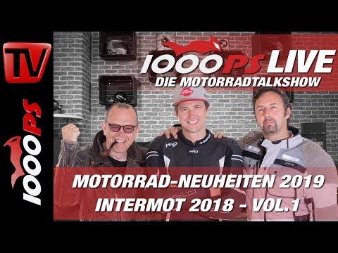 1000PS Live - Die Motorradtalkshow - INTERMOT 2018