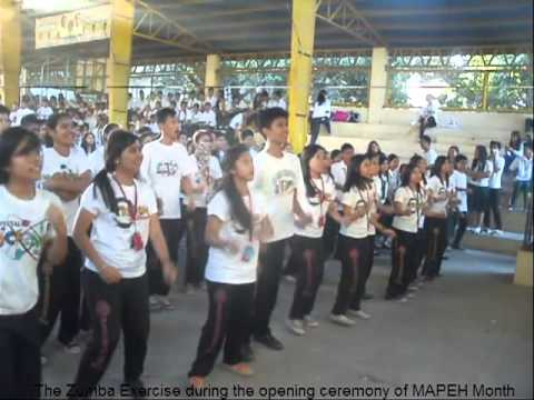 MAPEH CLUB holds Zumba Exercise