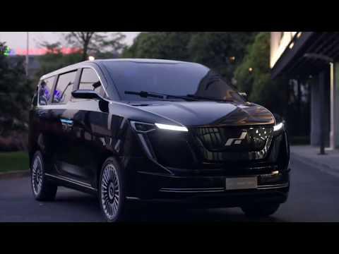 Iciniq seven - new suv electric car China 2018 . Новинка 2018 года китайский электроавтомобиль