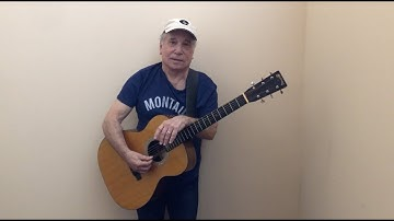Paul Simon - The Boxer (Acoustic Version March 2020)