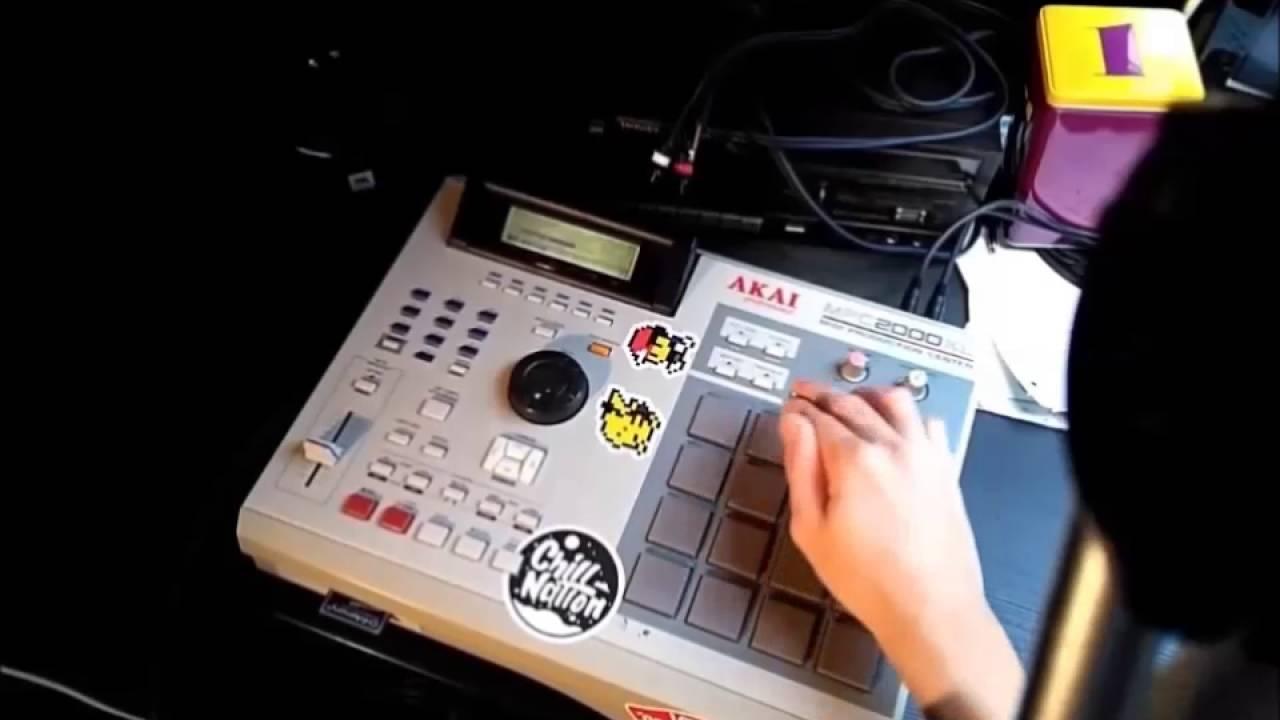Classic 90's Old School Boom Bap Sampled Beat MPC Beat Making Video