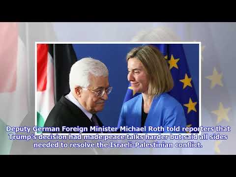 EU Backs Abbas in Drive to Have East Jerusalem as Palestinian Capital