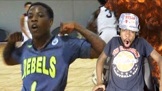 HOW?? 5'7 TRAE JEFFERSON IS UNSTOPPABLE! MOST ENTERTAINING PLAYER IN HIGH SCHOOL REACTION!