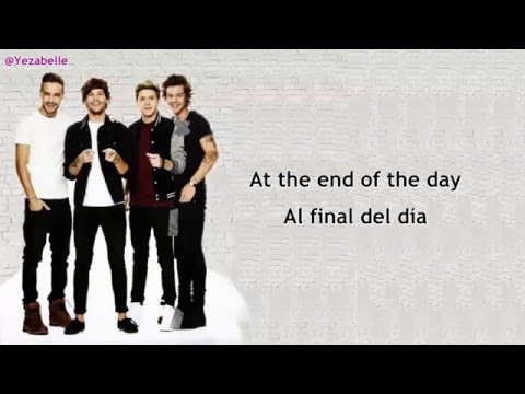 5. One Direction - End Of The Day [Color Coded + Sub Español + Lyrics]