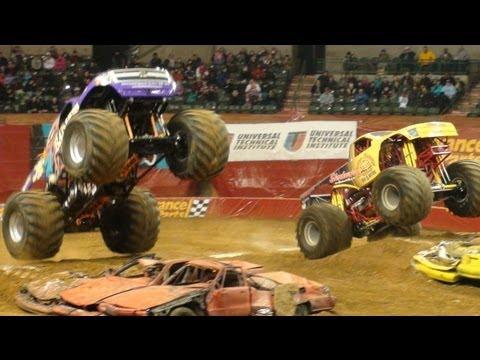 Bad News Crash landing & Shockwave Monster Jam @ Sun National Bank Center