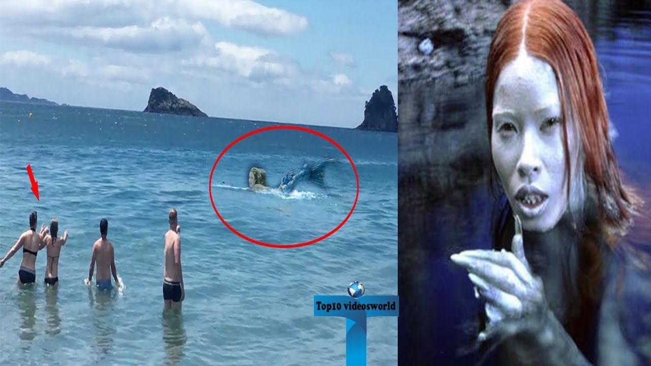 Top 10 Unbelievable Real Mermaids Caught On Camera Around ...