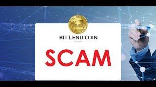 Bitlend coin SCAM!!!!! Рекомендация выходить из проекта.