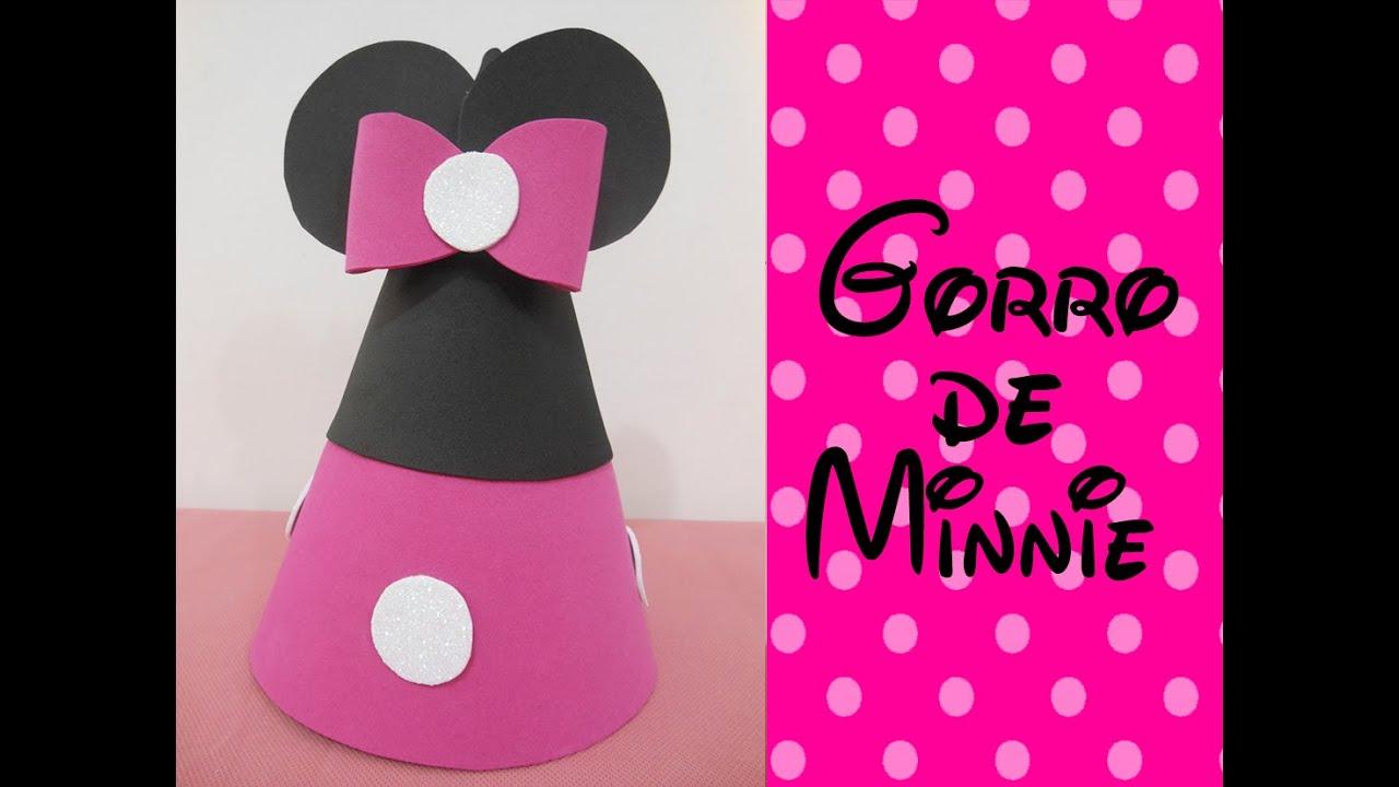 Gorro de Minnie (Minnie Hat) - YouTube