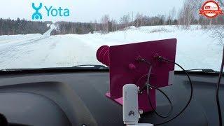В поисках Yota с антенной Bester Tab 3G + 4G
