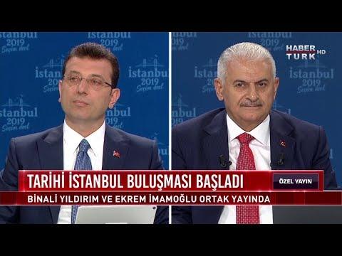 Tarihi İstanbul Buluşması - 16 Haziran 2019 (Binali Yıldırım, Ekrem İmamoğlu)