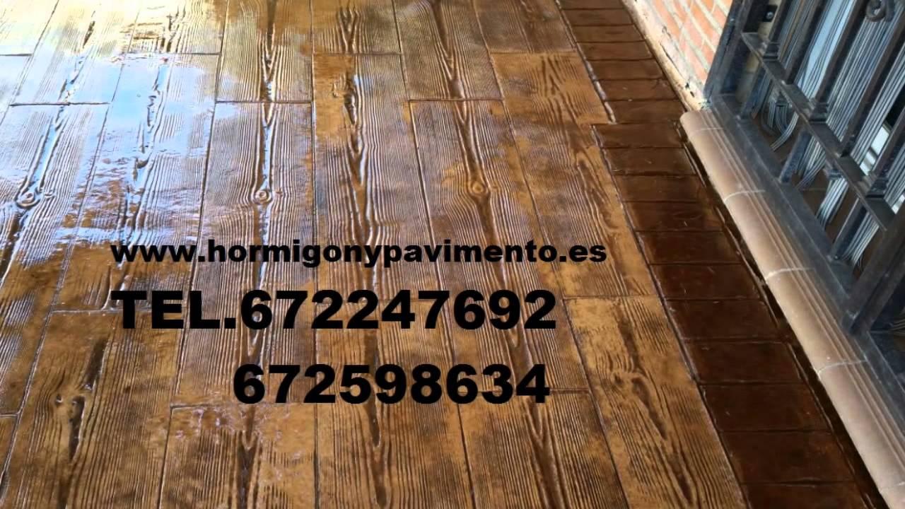 precio barato hormigon impreso tel barcelona youtube