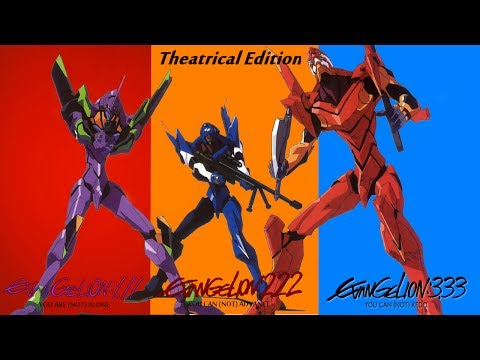 Evangelion Director's Cut Theatrical Marathon Edition - 3 FILMS, 6 HOURS! - Impressions/Experience