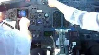 Decolagem em Guarulhos - cockpit
