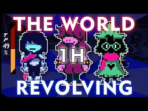 Deltarune: THE WORLD REVOLVING  (1 Hour Version)