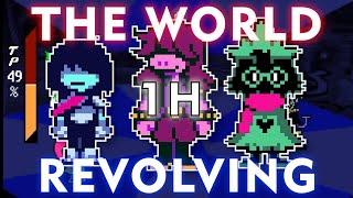 Deltarune THE WORLD REVOLVING (1 Hour Version)