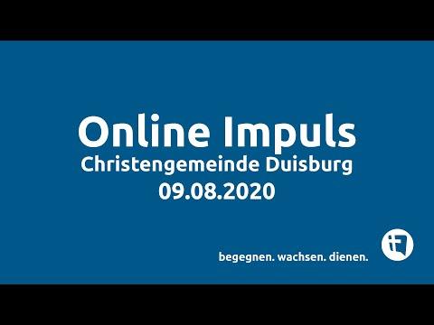 Christengemeinde Duisburg e.V. // Online-Impuls // 09.08.2020