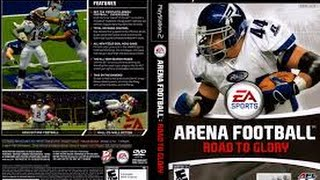 ARENA FOOTBALL ROAD TO GLORY PS2 GAMEPLAY
