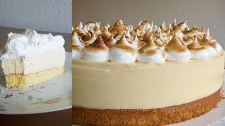 Lemon Meringue Cake from Scratch, Delicious and Easy to Make!