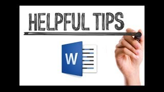 Microsoft MS Word tricks And Tips