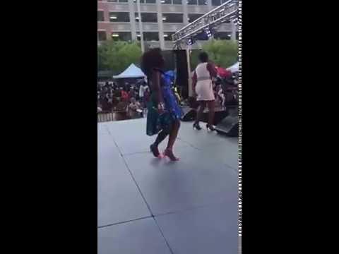 Myra Maimoh & Naomi Achu performing hit song, killing me at FestAfrica 2016