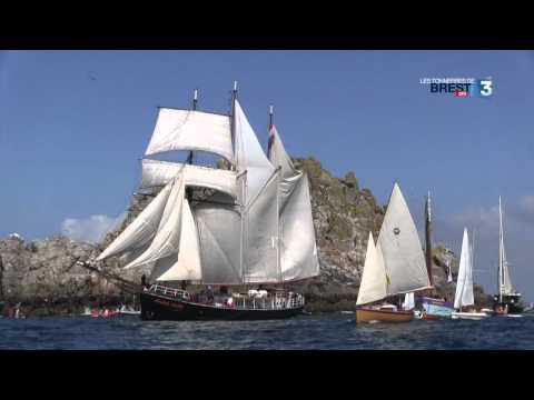 Les Tonnerres De Brest 2012 : Dans L'écume Des Vieux Gréements