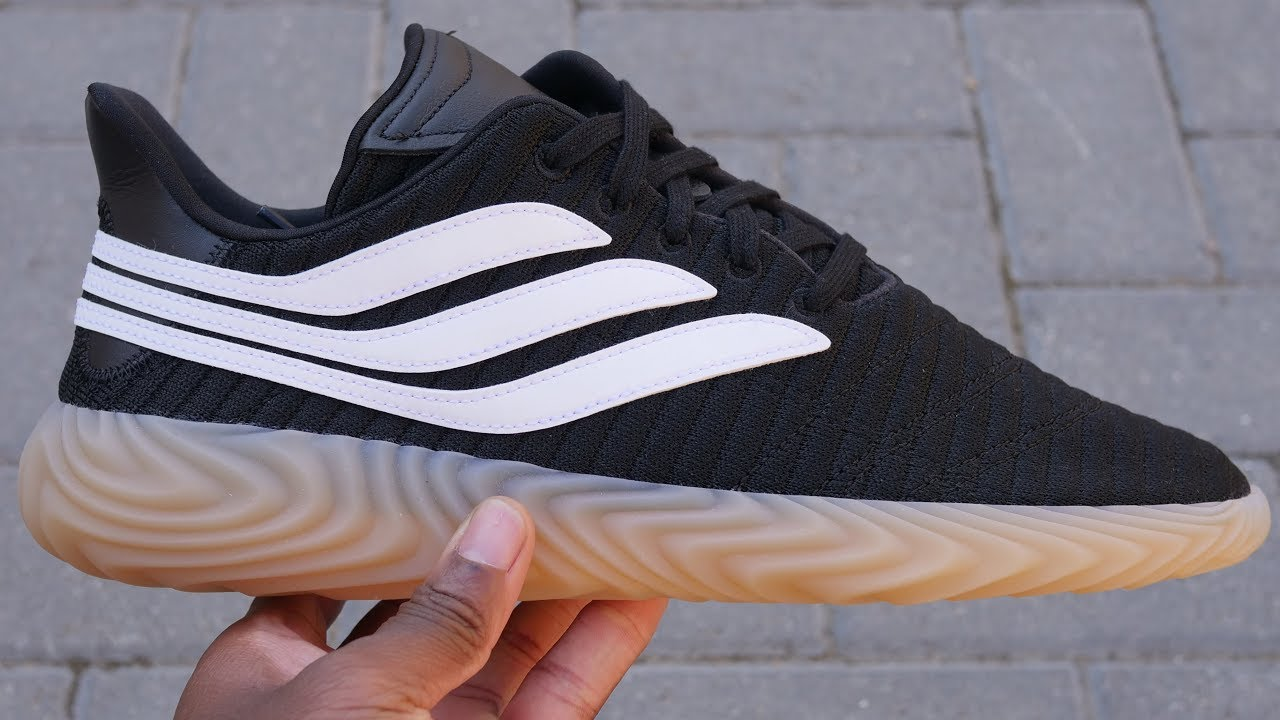 hot sale online 27fc0 012c8 Adidas Sobakov Quick Look   On Feet (Black White Gum)