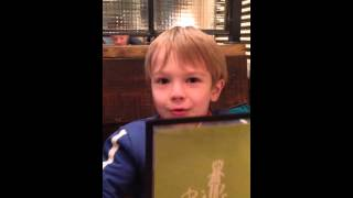 Autistic 5 year old. Logan struggles to understand language