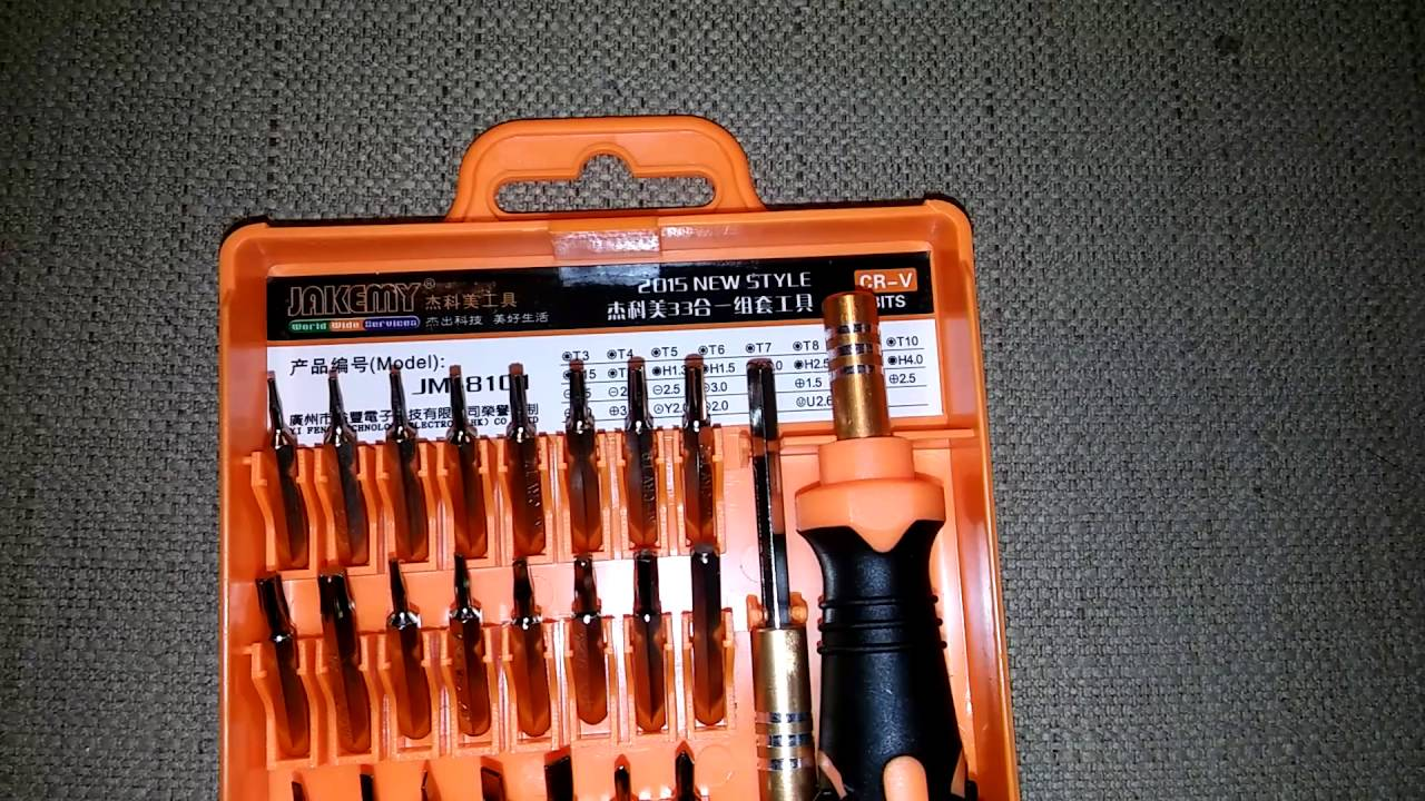 Harga Dan Spek Tool Set Jm Terbaru 2018 Obeng Jakemy 8101 33 In 1 Precision Screwdriver Repair Kit Youtube