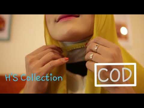 New Pashmina Karet Hijab Jilbab Pasmina Karet Ceruty Baby Doll Youtube