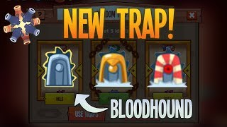 NEW BLOODHOUND TRAP! | UPDATE 2.28 | King of Thieves
