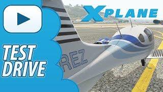 Test Drive | Aerobask Diamond DA-62 | Xplane 11