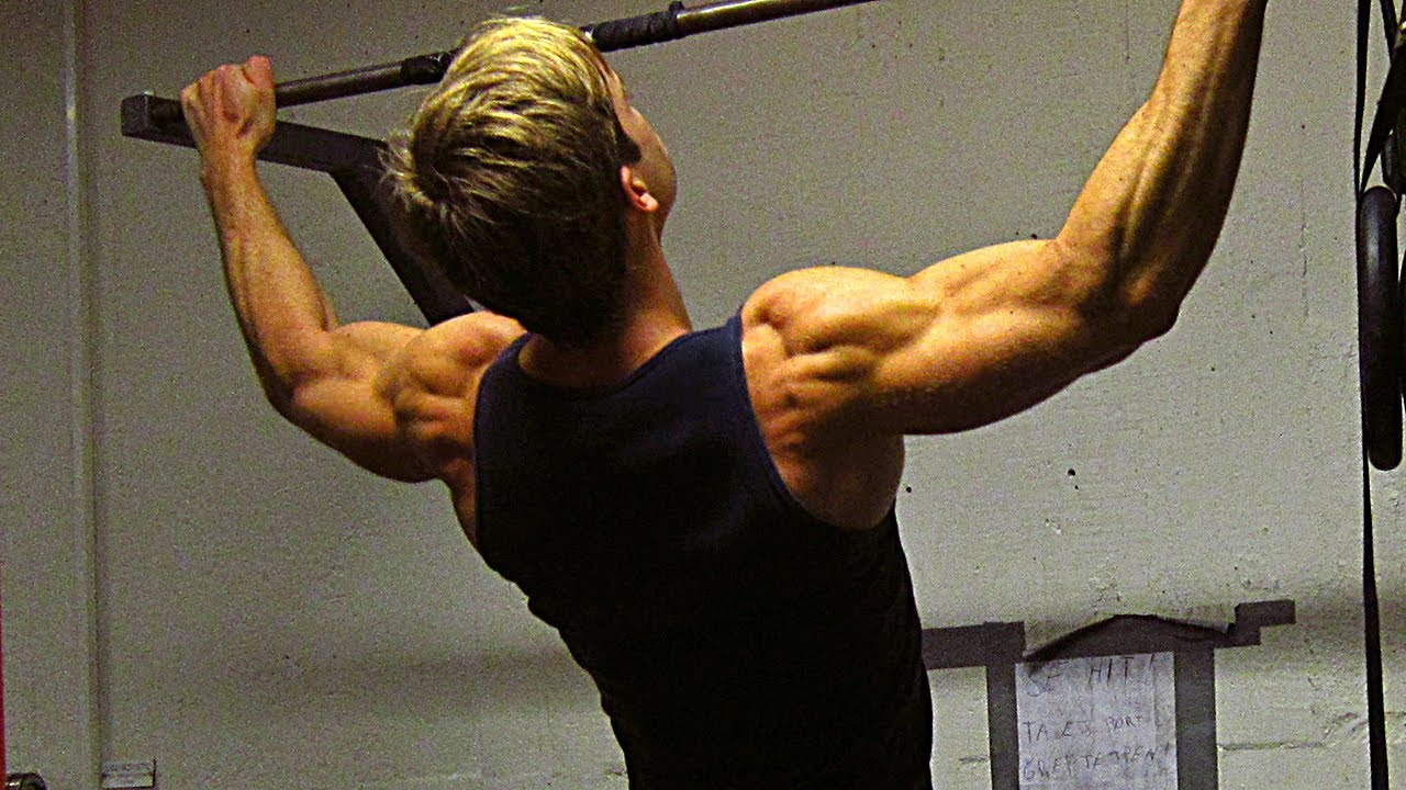 Back Workout Routine - Calisthenics & Weighted Pull Ups ...