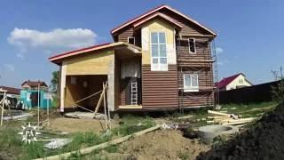 Скорость строительства Родного Дома. 5 этап - фасадные работы(Наружные стены всегда сильно подвержены воздействию внешней среды —температурных перепадов, влаги, ультр..., 2016-07-04T11:26:37.000Z)