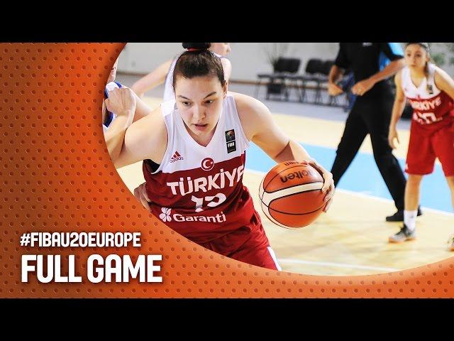 Ευρωπαϊκό Πρωτάθλημα Νέων Γυναικών | Live  ο αγώνας ΕΛΛΑΔΑ - Τουρκία  (Θέσεις 13-14, Greece v Turkey 19:45, 17.07.2016) (Ματοσίνιος, Πορτογαλία)