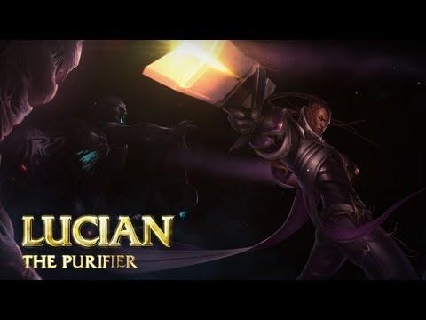 Lucian: Champion Spotlight | Gameplay - League of Legends
