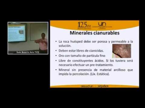 Fundamentos de cianuración de minerales auríferos