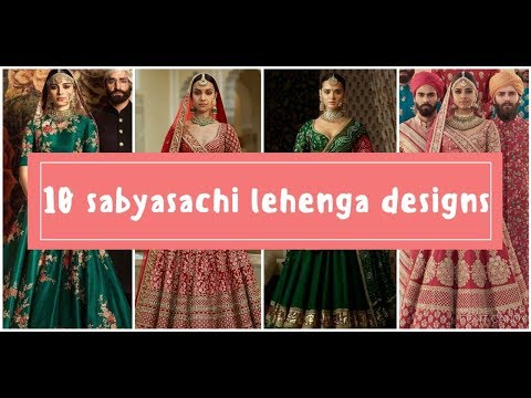 sabyasachi-lehenga-designs-for-wedding-and-party-|top-10-udaipur-collection-2018