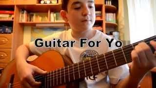 Жуки-Батарейка. Видеоурок на гитаре. Без баррэ