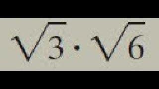 Скачать Sqrt 3 Sqrt 6 Square Root Of 3 And Square Root Of 6