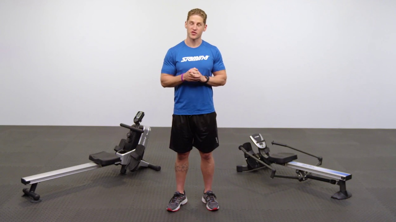 Types Of Rowing Machines - YouTube