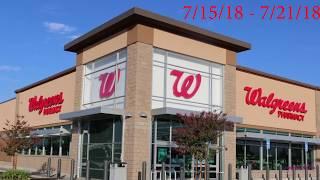 Ofertas De Walgreens + Lista para Imprimir 7/15/18 - 7/21/18