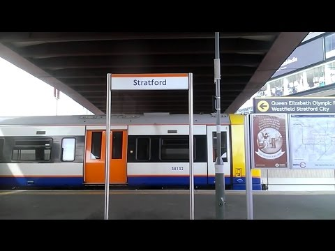 Full Journey on London Overground from Stratford to Clapham Junction