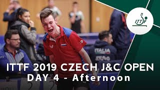 2019 Czech Junior & Cadet Open | Day 4 Afternoon