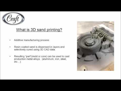 Integrating 3D Sand Printing Technologies Into Traditional Foundry Tooling Processes