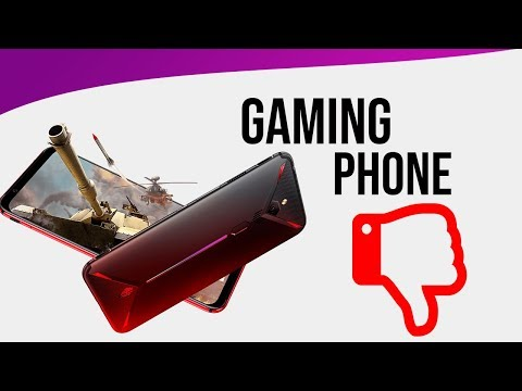 Gaming Phones - A Bad Idea??