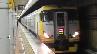 特急わかしお14号東京行E257系500番台越中島駅通過
