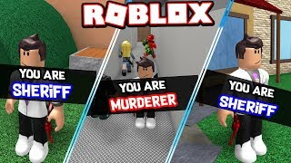 100% SHERIFF & MURDERER ONLY IN ROBLOX MURDER MYSTERY 2 !!! *NEVER INNOCENT*