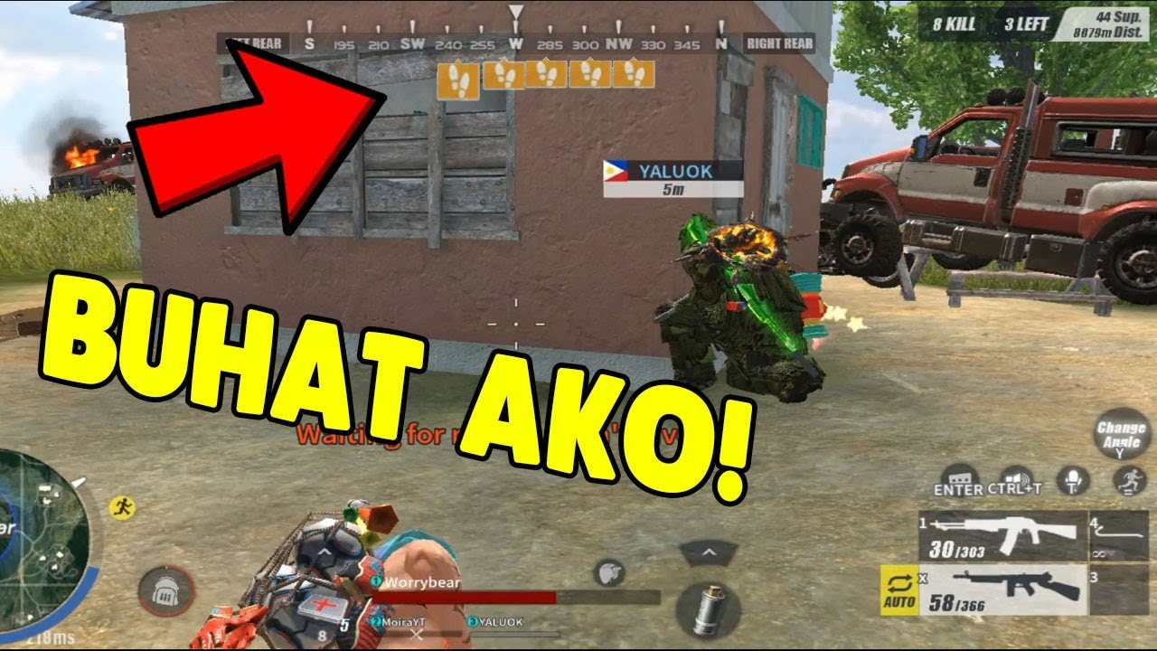 BINUHAT AKO NI YALU_OK!   [TAGALOG] (Rules of Survival: Battle Royale)