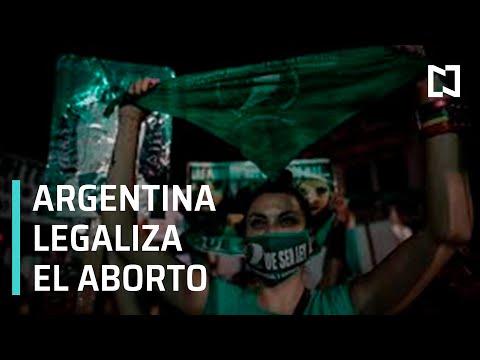 Argentina legaliza el aborto voluntario hasta la semana 14 de embarazo - Despierta